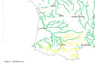 Les Hautes Pyrénées en alerte météo pluies-orages-inondations