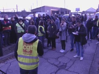 Tarbes. blocage du centre des impôts et coupures d'électricité