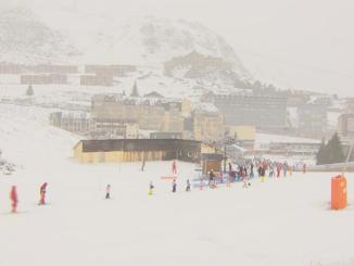 La neige est bien arrivée sur les Hautes Pyrénées