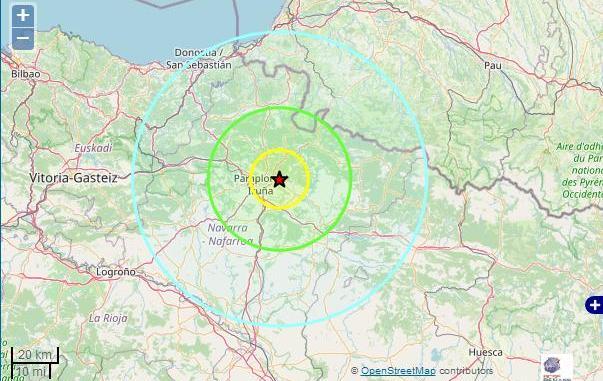 Série de tremblements de terre ce dimanche dans les Pyrénées