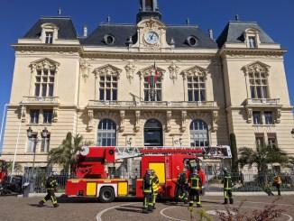 alerte incendie mairie de Tarbes
