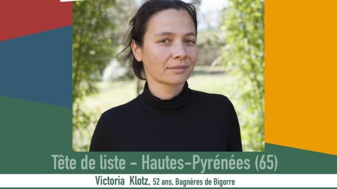 Victoria Klotz tête de liste Occitanie populaire Hautes Pyrénées