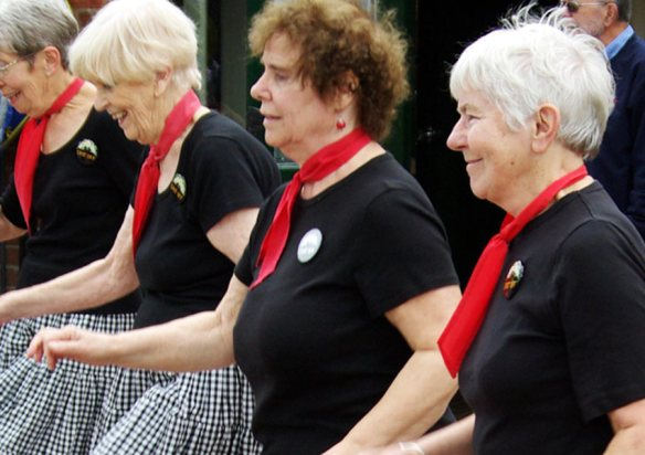 Cast Off Appalachian step dancers