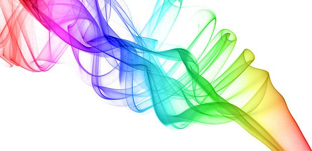 Fotografare il fumo e trasformarlo in un colorato quadro