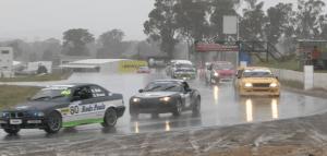 Michael Wedge and Peter Batterham Winton 300 Mazda MX5 Targa Racing