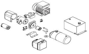 Industrial Hydraulic Gear Pump Industrial Hydraulic Winch