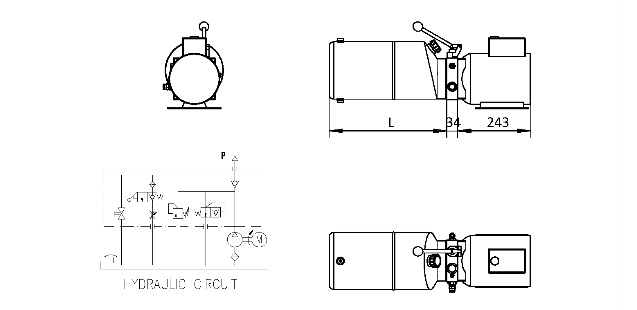 AC Hydraulic Power Packs Manufacturer.110v 240v Electric