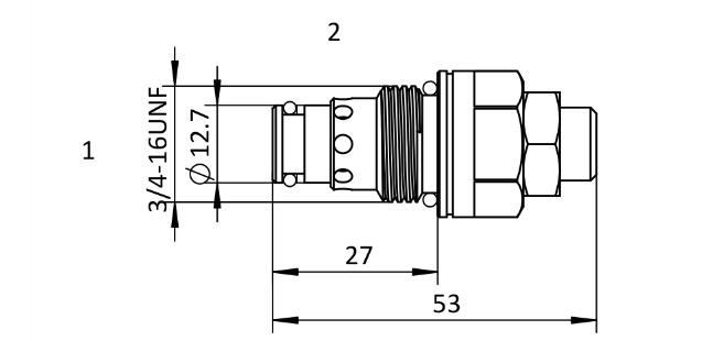 Hydraulic Pressure Reducing Valve ,Hydraulic Pressure