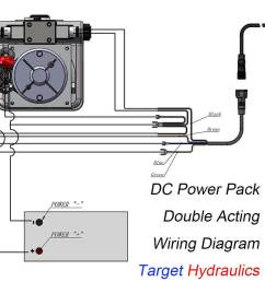 how to wire dc motor double acting power pack  [ 1500 x 909 Pixel ]