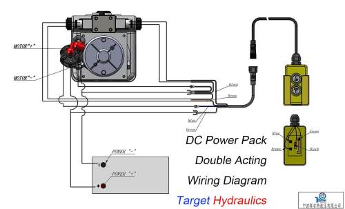 small resolution of 12v hydraulic pump wiring diagram