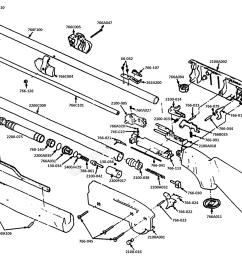 2100 parts drawing crosman classic 2100 [ 2008 x 1464 Pixel ]