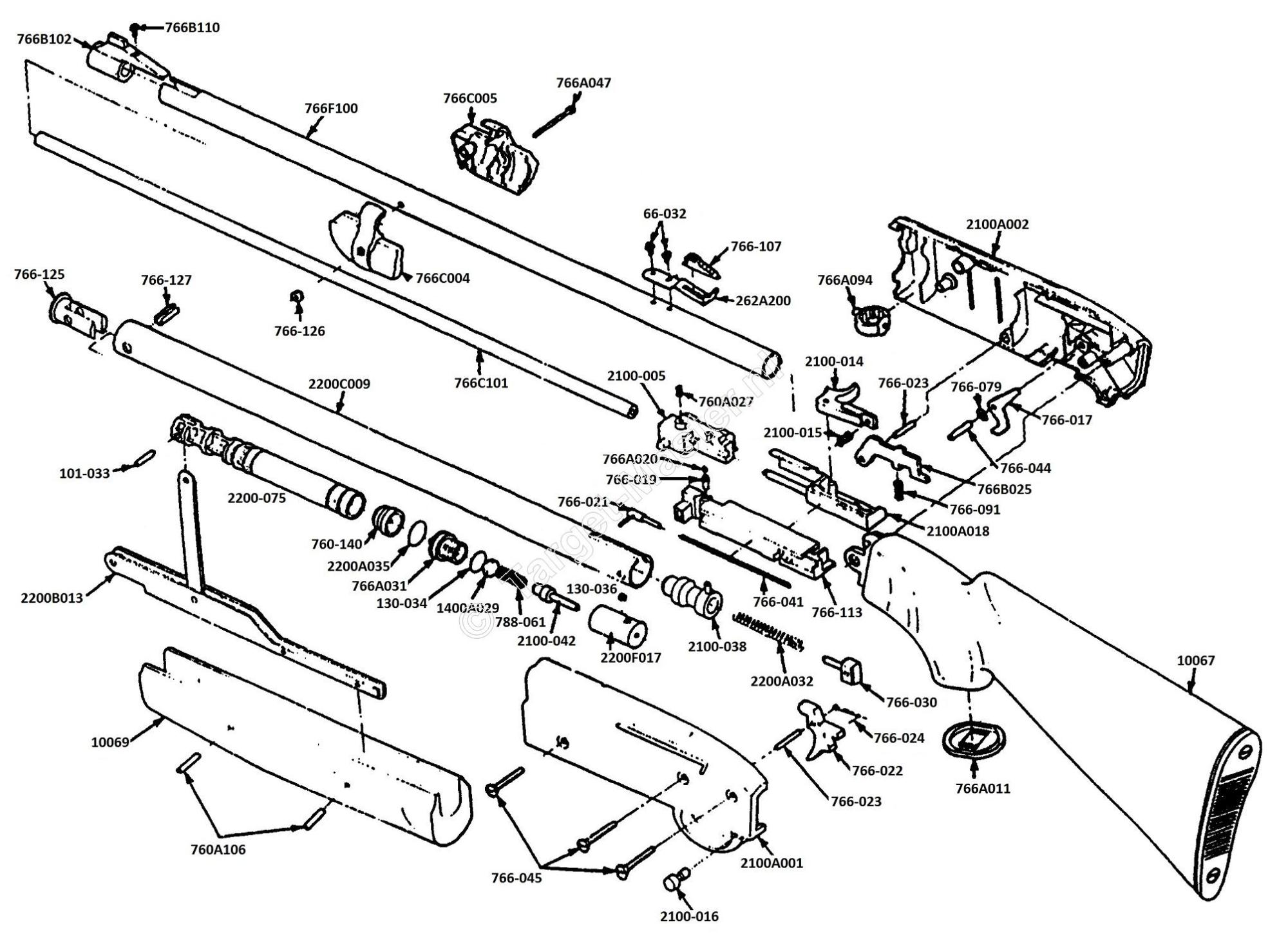 hight resolution of 2100 parts drawing crosman classic 2100