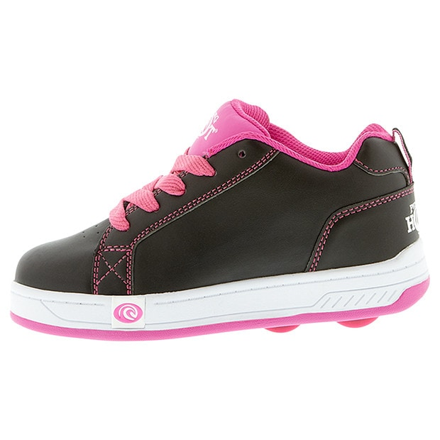 Piping Hot Roller Shoes Size 1 Black Pink Target