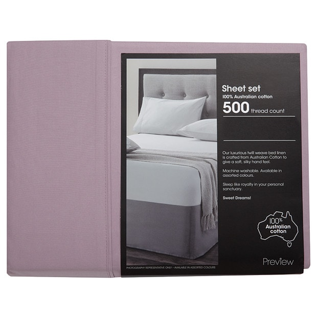 500 Thread Count Sheet Set