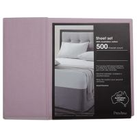 500 Thread Count Sheet Set - Dusty Pink | Target Australia