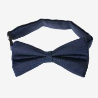 Grosgrain Plain Bow Tie - Navy Blue   Target Australia
