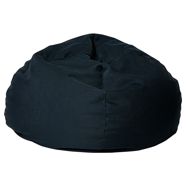 bean bag chair target australia dining foam replacement cover 150lt - black |