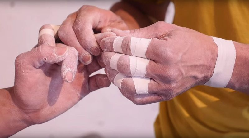 Video - Taping fürs Klettern mit Volker Schöffl