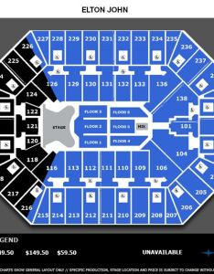 Elton john web seating chartg also charts target center rh targetcenter