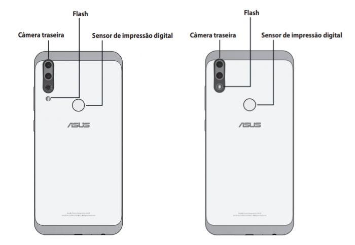 Asus Zenfone Max Shot e Zenfone Max Plus (M2) podem ser