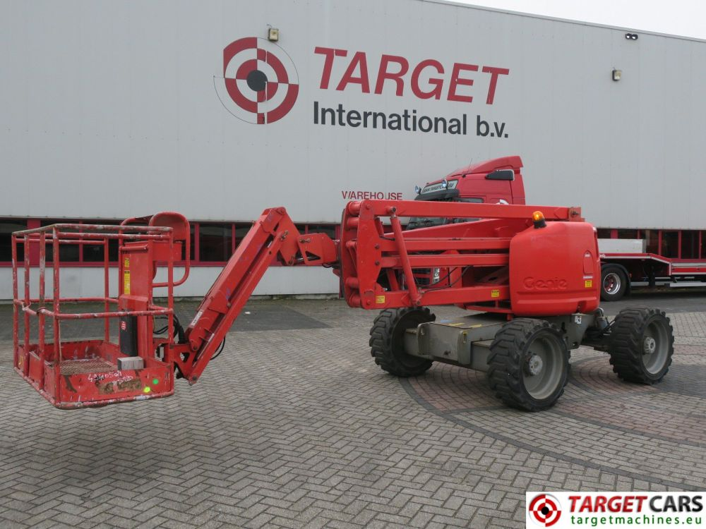medium resolution of genie z 45 25jrt boom 4x4 z45 25jrt diesel boom articulated work lift w jib 1580cm 04 04