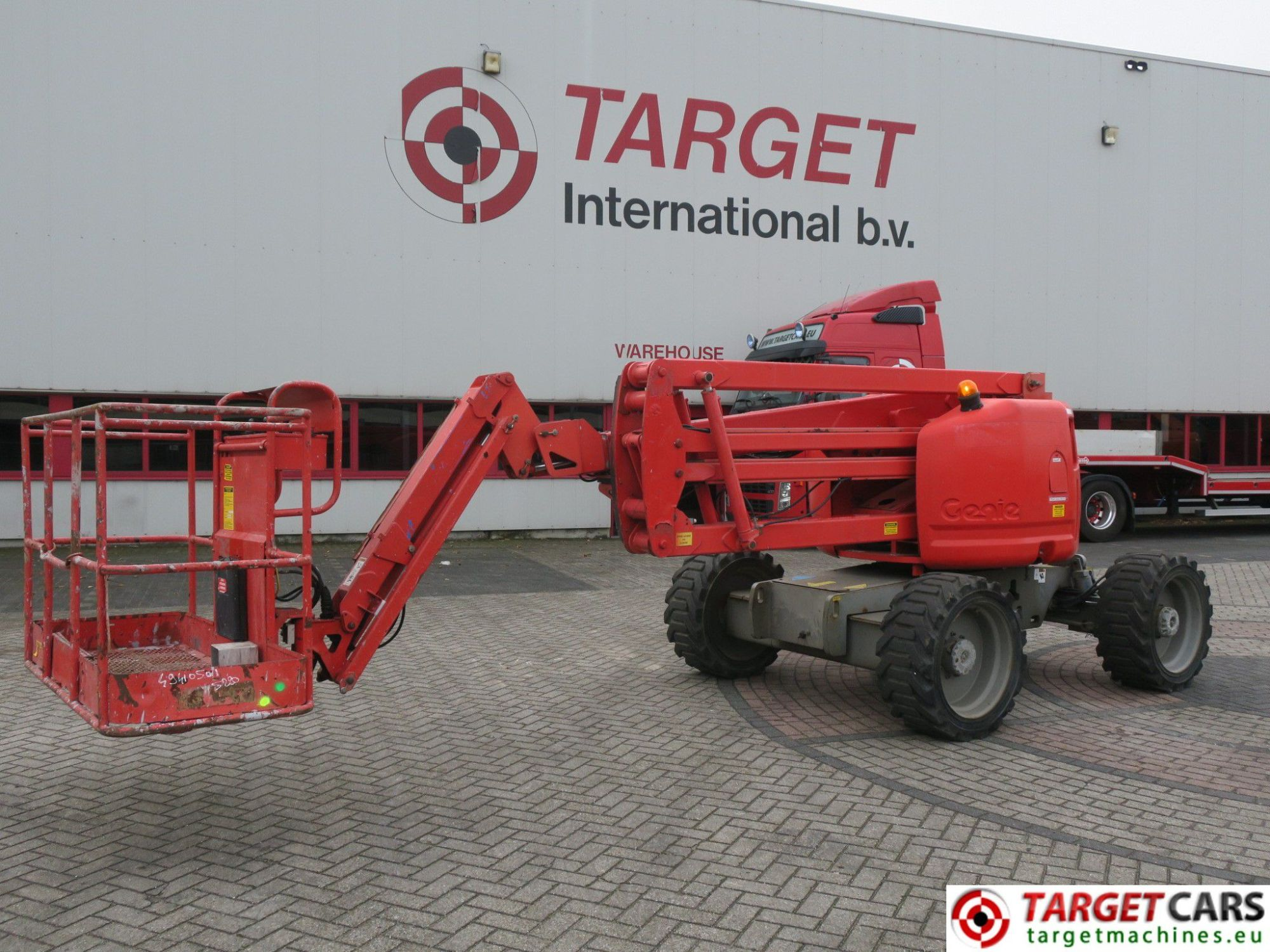 hight resolution of genie z 45 25jrt boom 4x4 z45 25jrt diesel boom articulated work lift w jib 1580cm 04 04