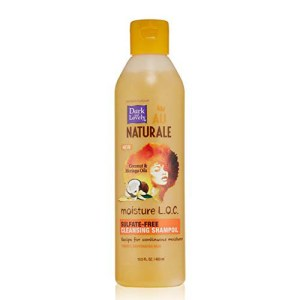 Dark and Lovely Au naturale moisture LOC sulfate free cleanzing shampo OIL. 400 ML