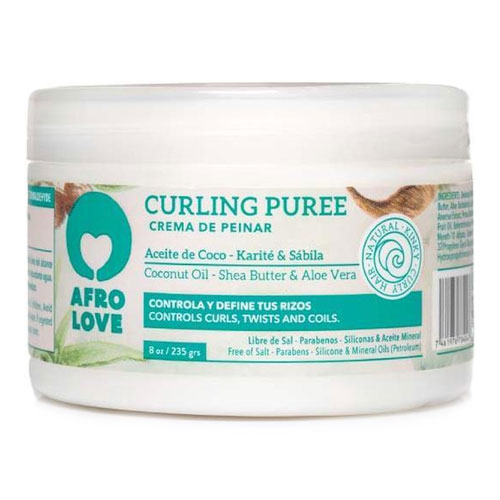 afro love hair curling puree