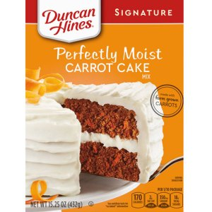 duncan hines perfectly moist carrot mix