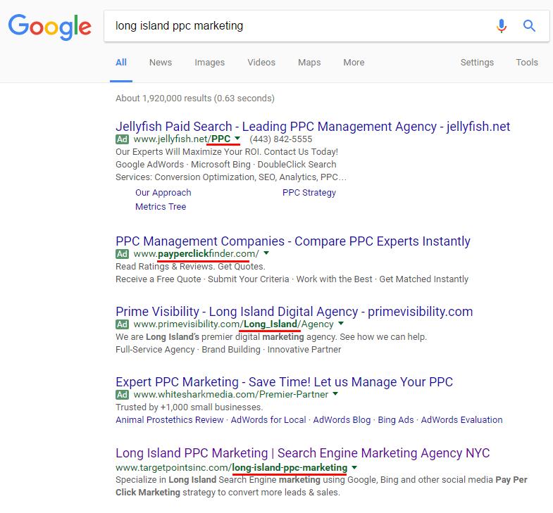 keyword-in-url