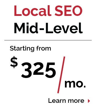 Arkansas Local SEO Mid-Level Pricing Package