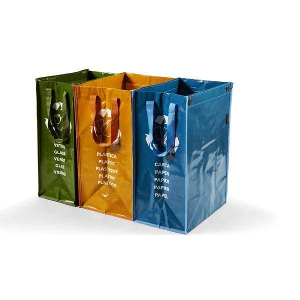 SET 3 CONTENITORI Ricicla Bag Perfetto in offerta