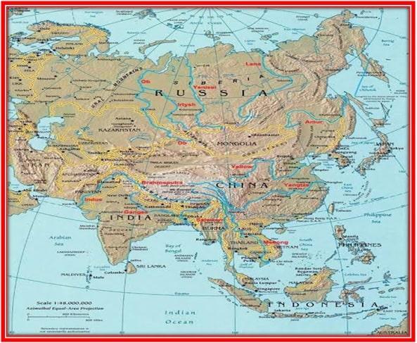 एशिया की नदियाँ