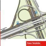 Kolejne zmiany na Trasie Toruńskiej