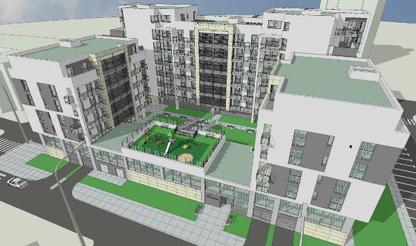 Projekt budynku przy ul. Skargi 54 / fot. www.rsmpraga.pl