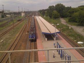 Stacja Warszawa Praga - taki przystanek powinien powstać przy Tesco