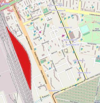 O tyle ma się powiększyć Targówek kosztem Pragi Północ / mapa: Open Street Map, targowek.info