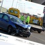 Pirat drogowy spowodował wypadek na Trasie Toruńskiej