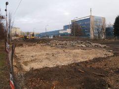 Budowa lądowiska dla LPR