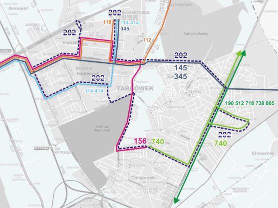 Planowane zmiany linii autobusowych /fot. ZTM