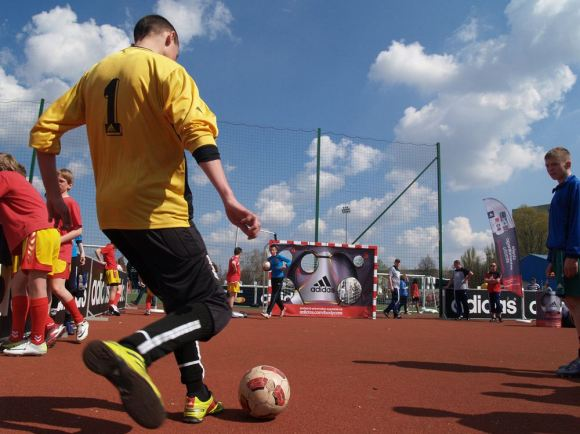Zawody Adidasa na Polonezie przy Łabiszyńskiej