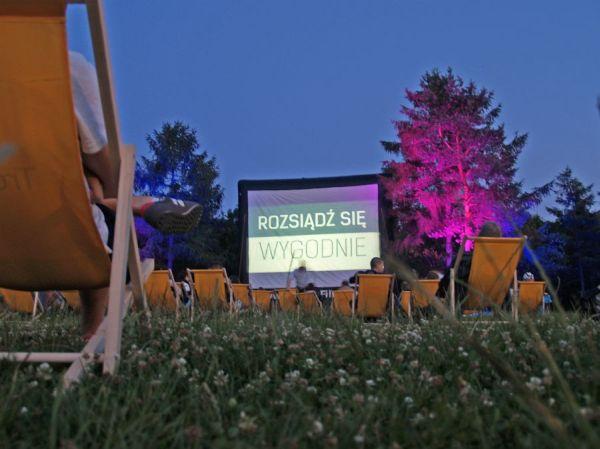 Kino w parku Bródnowskim