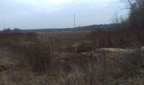 W tym miejscu powstanie jezioro / fot. targowek.info