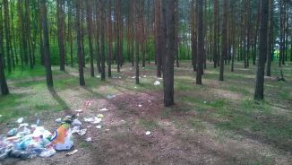 Lasek Bródnowski w majowy weekend