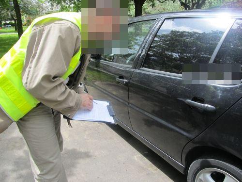Łączne szkody na porysowanych autach oszacowano na ok. 25 tys. zł /fot. policja
