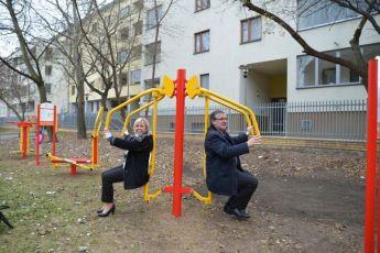 14.11.2014 - tuż przed wyborami / fot. Urząd Dzielnicy Targówek