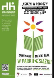 park książki 2013, dla Domek Herbaciany