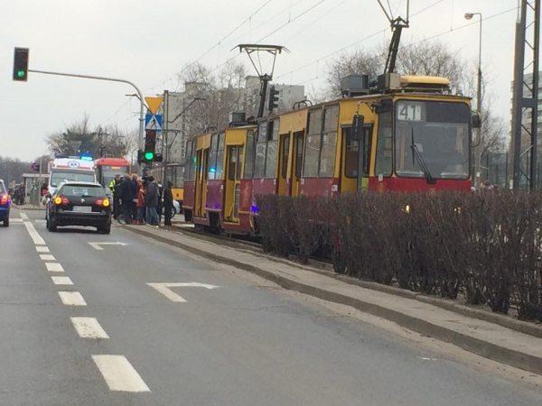 Wypadek na Bródnie / fot. czytelnik targowek.info