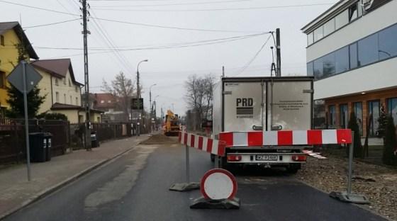Tarnogórska w remoncie / fot. targowek.info