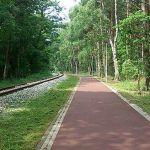 Ścieżka rowerowa wzdłuż torów kolejowych?